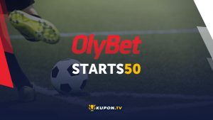 Бонус Olybet, kupon.tv
